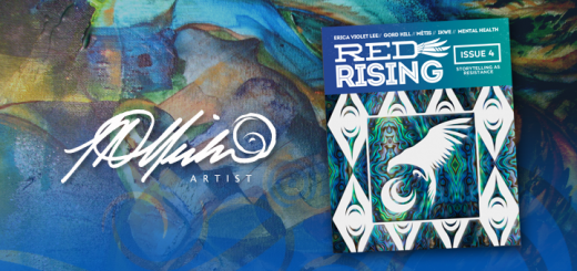 Lisa Delorme Meiler, metis artist, published in issue 4 of Red Rising Magazine