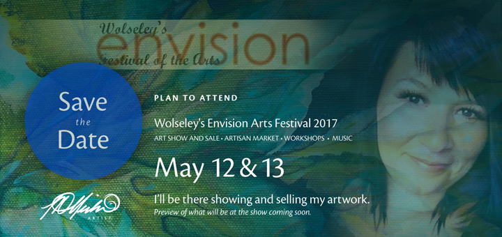 Save the date, Lisa Delorme Meiler at Envision Festival of the arts 2017