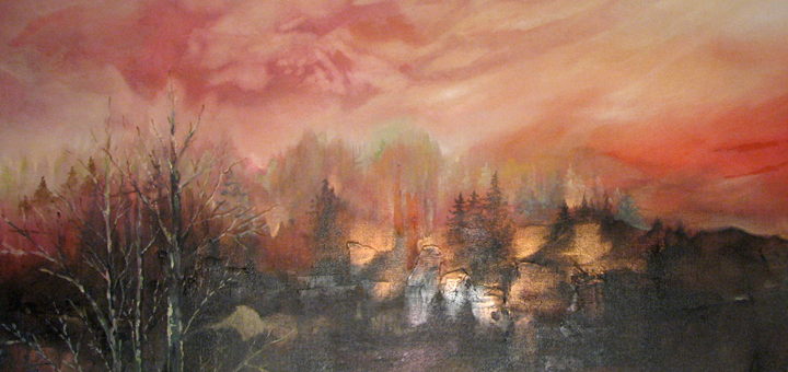 Recollection by Lisa Delorme Meiler, Metis artist