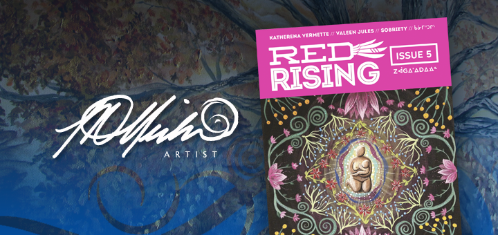 Lisa Delorme Meiler's artwork was selected and published for the second time in Red Rising Magazine, Issue 5: Love.