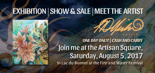 Show and Sale, Fire and Water Festival August 5, 2017 in Lac Du Bonnet